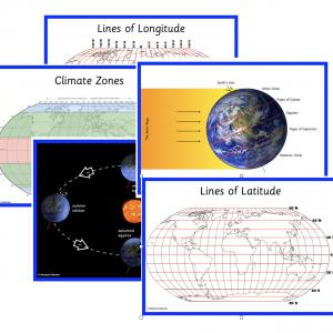 Latitude Longitude Map Bundle