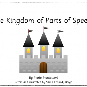 Kingdom of Parts of Speech Story