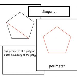 Parts of a Regular Polygon
