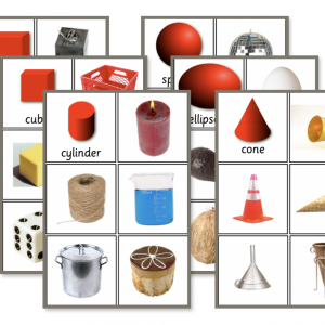 Classroom Measuring work cards 3 D Shapes (Solids) Sorting